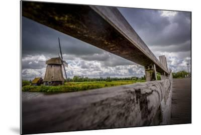 The Netherlands, Channel, Canal, Mill, Windmill-Ingo Boelter-Mounted Photographic Print