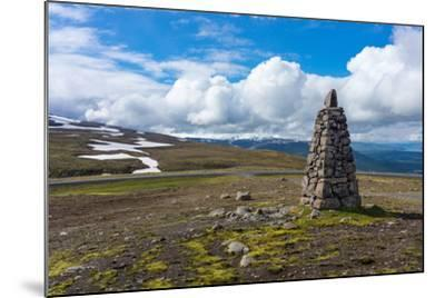 Between Seydisfjšrdur and Egilsstadir, Mountain Pass-Catharina Lux-Mounted Photographic Print