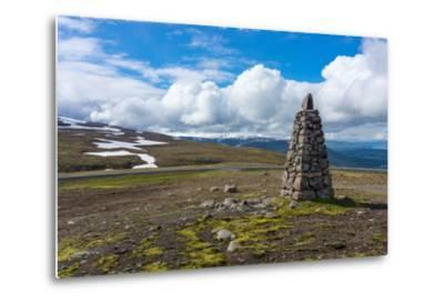 Between Seydisfjšrdur and Egilsstadir, Mountain Pass-Catharina Lux-Metal Print