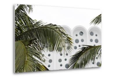 Art Deco Architecture, Ocean Drive, Miami South Beach, Art Deco District, Florida, Usa-Axel Schmies-Metal Print