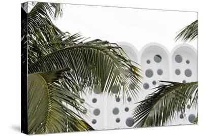 Art Deco Architecture, Ocean Drive, Miami South Beach, Art Deco District, Florida, Usa-Axel Schmies-Stretched Canvas Print