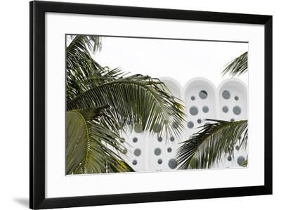 Art Deco Architecture, Ocean Drive, Miami South Beach, Art Deco District, Florida, Usa-Axel Schmies-Framed Photographic Print