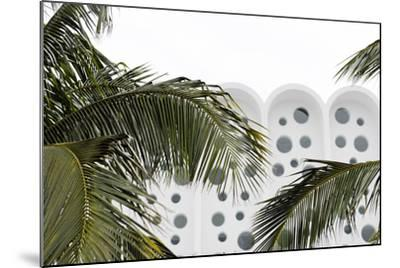 Art Deco Architecture, Ocean Drive, Miami South Beach, Art Deco District, Florida, Usa-Axel Schmies-Mounted Photographic Print