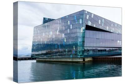 Reykjavik, Harpa Concert Hall-Catharina Lux-Stretched Canvas Print