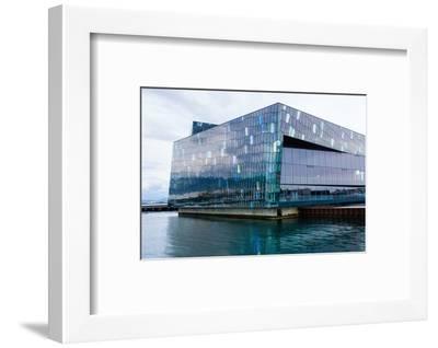 Reykjavik, Harpa Concert Hall-Catharina Lux-Framed Photographic Print