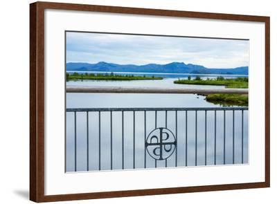 Pingvellir National Park, Bridge, Icon-Catharina Lux-Framed Photographic Print
