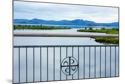 Pingvellir National Park, Bridge, Icon-Catharina Lux-Mounted Photographic Print