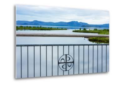 Pingvellir National Park, Bridge, Icon-Catharina Lux-Metal Print