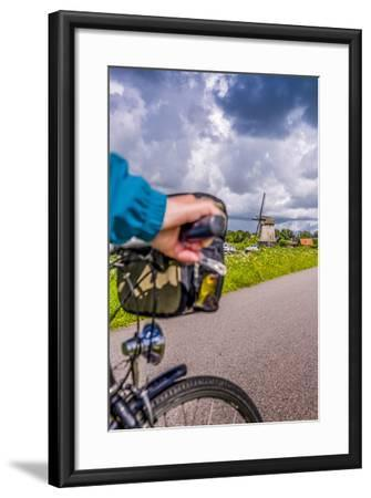 The Netherlands, Tour, Bike, Cycling Tour, Bicycle, Hand, Close-Up, Detail  Photographic Print by Ingo Boelter   Art com