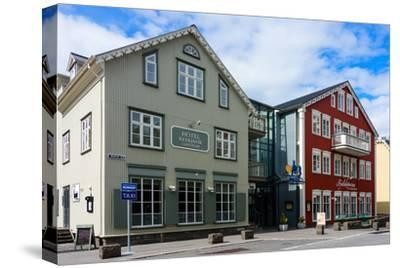 Reykjavik, Historical City Centre-Catharina Lux-Stretched Canvas Print