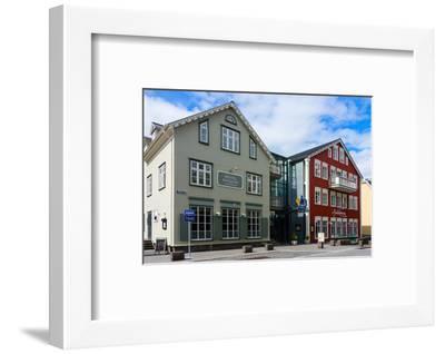 Reykjavik, Historical City Centre-Catharina Lux-Framed Photographic Print