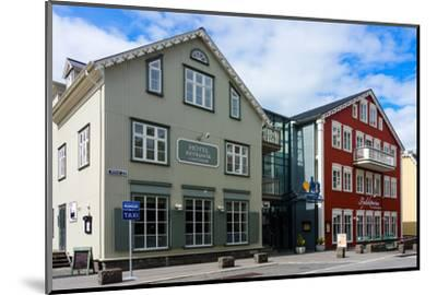 Reykjavik, Historical City Centre-Catharina Lux-Mounted Photographic Print