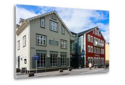 Reykjavik, Historical City Centre-Catharina Lux-Metal Print