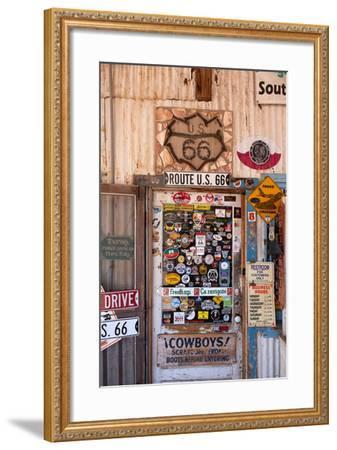 USA, Arizona, Route 66, Hackberry, Shop-Catharina Lux-Framed Photographic Print