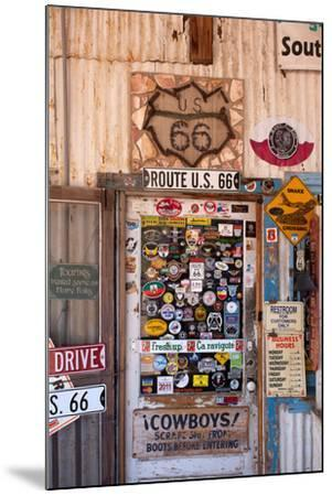 USA, Arizona, Route 66, Hackberry, Shop-Catharina Lux-Mounted Photographic Print