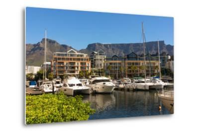 South Africa, Cape Town, Boat Harbour-Catharina Lux-Metal Print