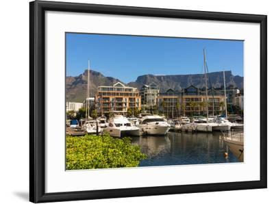 South Africa, Cape Town, Boat Harbour-Catharina Lux-Framed Photographic Print