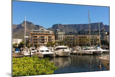 South Africa, Cape Town, Boat Harbour-Catharina Lux-Mounted Photographic Print