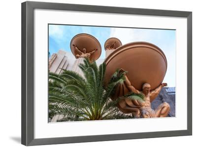 USA, Las Vegas, the Strip-Catharina Lux-Framed Photographic Print