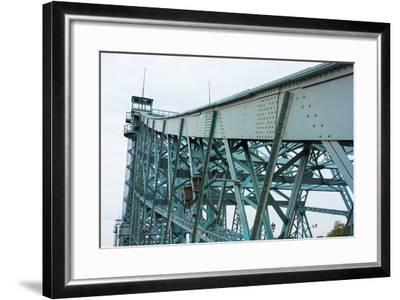 "Dresden, Elbe Cycle Track, Bridge, ""Blue Wonder-Catharina Lux-Framed Photographic Print"