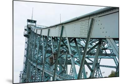 """Dresden, Elbe Cycle Track, Bridge, """"Blue Wonder-Catharina Lux-Mounted Photographic Print"""
