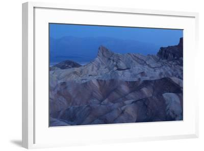 USA, Death Valley National Park, Zabriskie Point, Sunrise-Catharina Lux-Framed Photographic Print