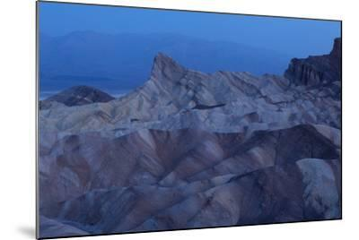 USA, Death Valley National Park, Zabriskie Point, Sunrise-Catharina Lux-Mounted Photographic Print