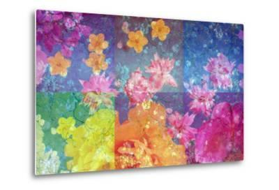Photographic Layer Work from Flowers and Trees-Alaya Gadeh-Metal Print