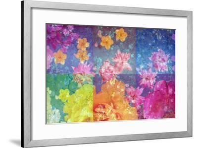 Photographic Layer Work from Flowers and Trees-Alaya Gadeh-Framed Photographic Print
