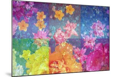 Photographic Layer Work from Flowers and Trees-Alaya Gadeh-Mounted Photographic Print