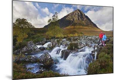 Great Britain, Scotland, Highlands, Invernessshire, Glen Coe-Rainer Mirau-Mounted Photographic Print