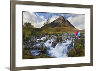 Great Britain, Scotland, Highlands, Invernessshire, Glen Coe-Rainer Mirau-Framed Photographic Print
