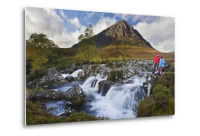 Great Britain, Scotland, Highlands, Invernessshire, Glen Coe-Rainer Mirau-Metal Print
