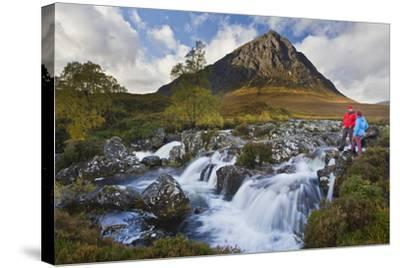 Great Britain, Scotland, Highlands, Invernessshire, Glen Coe-Rainer Mirau-Stretched Canvas Print