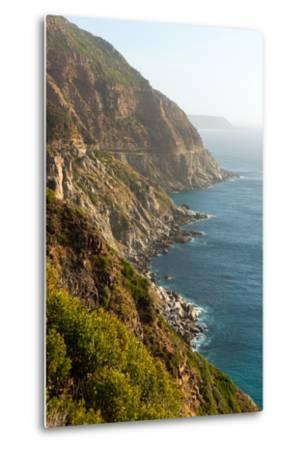 South Africa, Cape Peninsula, Rocky Shore-Catharina Lux-Metal Print