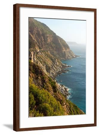 South Africa, Cape Peninsula, Rocky Shore-Catharina Lux-Framed Photographic Print