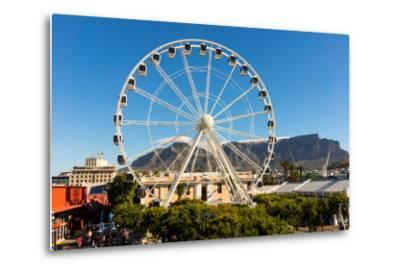 Cape Town, Harbour, V and a Waterfront, Ferris Wheel-Catharina Lux-Metal Print