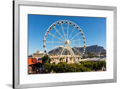 Cape Town, Harbour, V and a Waterfront, Ferris Wheel-Catharina Lux-Framed Photographic Print