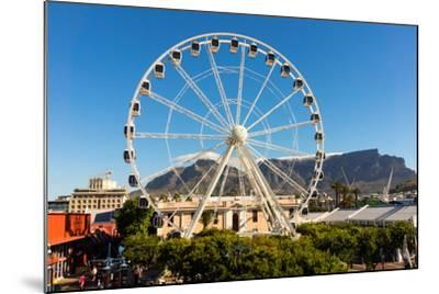 Cape Town, Harbour, V and a Waterfront, Ferris Wheel-Catharina Lux-Mounted Photographic Print