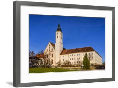 Germany, Bavaria, Upper Bavaria, Tšlz Country, Dietramszell-Udo Siebig-Framed Photographic Print