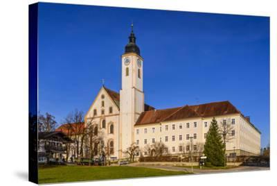 Germany, Bavaria, Upper Bavaria, Tšlz Country, Dietramszell-Udo Siebig-Stretched Canvas Print