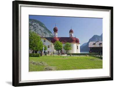 Church Saint Bartholom?, King's Lake, National Park Berchtesgaden-Rainer Mirau-Framed Photographic Print
