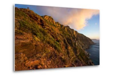South Africa, Cape Peninsula, Chapman's Peak Drive-Catharina Lux-Metal Print