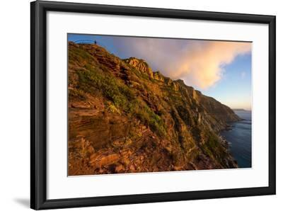 South Africa, Cape Peninsula, Chapman's Peak Drive-Catharina Lux-Framed Photographic Print