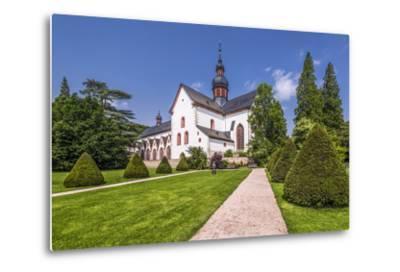 Germany, Hessen, Rheingau Area, Eltville Am Rhein, Cloister Eberbach-Udo Siebig-Metal Print