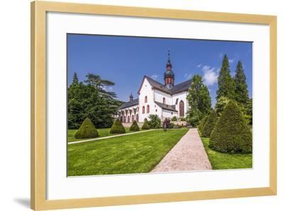 Germany, Hessen, Rheingau Area, Eltville Am Rhein, Cloister Eberbach-Udo Siebig-Framed Photographic Print