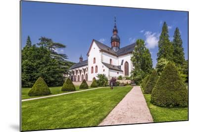 Germany, Hessen, Rheingau Area, Eltville Am Rhein, Cloister Eberbach-Udo Siebig-Mounted Photographic Print