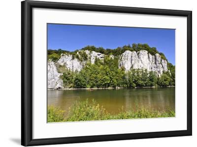 Germany, Bavaria, Lower Bavaria, Danube Valley, Weltenburg-Udo Siebig-Framed Photographic Print