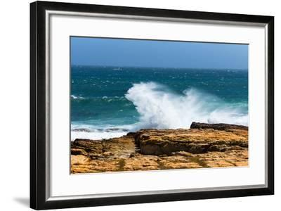 South Africa, the Cape of Good Hope, Foam-Catharina Lux-Framed Photographic Print