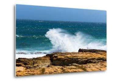South Africa, the Cape of Good Hope, Foam-Catharina Lux-Metal Print